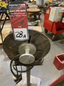 "MBC BP-2 welding Positioner, 12"" Table, Tilt and Rotate, Variable Speed, s/n 4085"