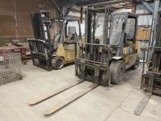 Caterpillar GP40KL LP Forklift, s/n AT29C60344, 8,000 Lb. Capacity, 2-Stage Mast, Side Shift, (Needs