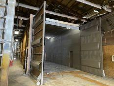 Custom Built Blast Room, 50' x 24' x 19'H