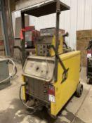 Esab 353CV Welding Power Source, s/n MA-J025019, w/ Esab Mig 4HD Wire Feed
