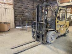 Caterpillar GP40KL LP Forklift, s/n AT29C60343, 8,000 Lb. Capacity, 2-Stage Mast, Side Shift, (Needs