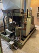 Sullair LS-25 200H ACAC Rotary Screw Air Compressor, s/n 003-100770, 200 HP, (Blast/Paint Building)