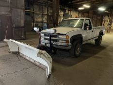 Chevy 2500 Pickup Truck, 4x4, Automatic, 183,638 Miles, Blizzard Plow, Needs Battery, Needs Fuel
