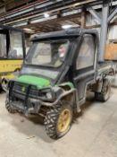 John Deere 855D Gator XUV, s/n M0HX0PA121361, 4X4, Diesel, Heat, Power Dump