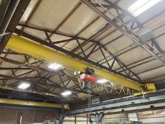 Crane America 5-Ton Bridge Crane, Approx. 34' Bridge, w/ 5-Ton CM Lodestar XL Electric Hoist w/