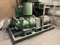 Sullair 25-200H Rotary Screw Air Compressor, s/n 003-84347, 200 HP, 125 PSI, (Blast/Paint Building)