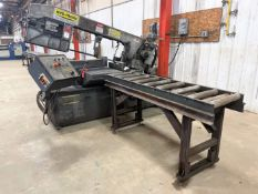 """Hyd-Mech S-20 III Horizontal Bandsaw, s/n 6C0112199, 13"""" x 18"""" Capacity, w/ 16"""" W Infeed and Outfeed"""