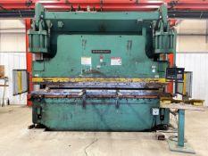 "Cincinnati 350 CB x 10 Hydraulic Press Brake, s/n 49097, 350 Ton, 12' OA, 10"" Stroke, Autobend 7 CNC"