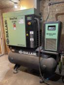 2011 Sullair ST509RD 20 HP Air Compressor System, s/n 201111080074 125 PSIG, w/ Sullair RN100