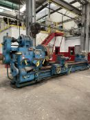 """SMITH COURTNEY 48"""" x 160"""" Engine Lathe, 48"""" Swing Over Bed, 160"""" Distance Between Centers, 7-157"""