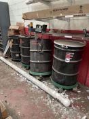 (4) 55-Gallon Drums