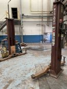 MOHAWK SYSTEM IA 9,000-Lb. 2-Post Lift, s/n 93071131 (Condition Unknown)
