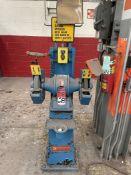SETCO SPL Double End Pedestal Grinder, s/n 92535 (Condition Unknown)