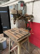 WALKER TURNER Drill Press, s/n NA, 1725 RPM, 1/2 HP, 110 V (Condition Unknown)