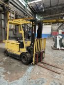 HYSTER J50XM-28 5,000-Lb. Electric Forklift, s/n A216A01721S (Condition Unknown)