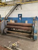 """8' x 12"""" Bending Roll (Condition Unknown)"""