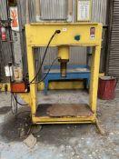 H-Frame Hydraulic Shop Press (Condition Unknown)