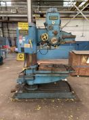 """FOSDICK 3' Radial Arm Drill, 3' Arm, 24"""" Throat (Condition Unknown)"""
