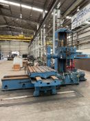 """GIDDINGS & LEWIS 340-T Horizontal Boring Machine, s/n 150-141-56, 4' x 8' T-Slotted Table, 112"""""""