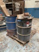 (3) 55-Gallon Drums