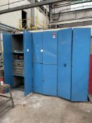 (4) Steel Cabinets w/ Contents