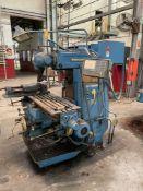 "CINCINNATI CINOVA 80-307-14 Vertical Milling Machine, s/n 300861, 14"" x 62"" T-Slotted Table, 34"""