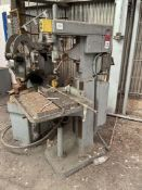 EDLUND 1F 10 Drill Press, s/n 6712 (Condition Unknown)