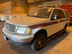2000 FORD Expedition SUV, VIN #1FMPU16L5YLB836, 109,273 Miles
