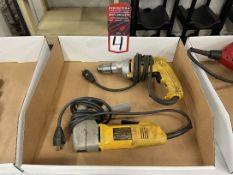 """Lot Comprising DEWALT DW235G 1/2"""" VSR Drill and DEWALT DW892 14 Ga Shear"""