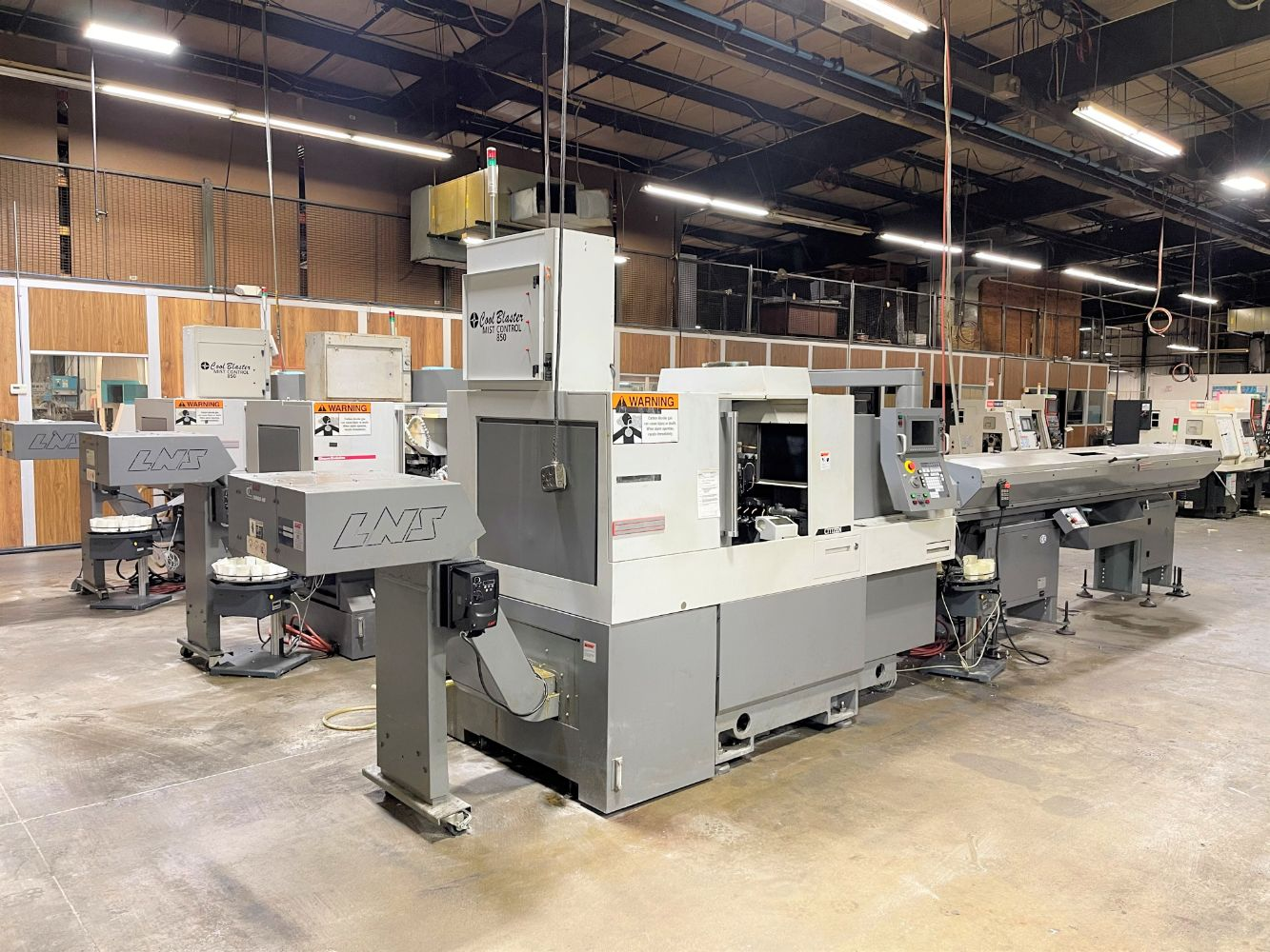 Precision CNC Machining Facility Closure - Tier 1 Caterpillar Supplier
