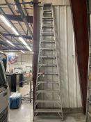 WERNER 414 14' Aluminum Step Ladder