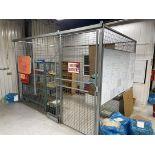 FOLDING GUARD QWIK-FENCE 8' x 12' Fencing Cell w/ Locking Door