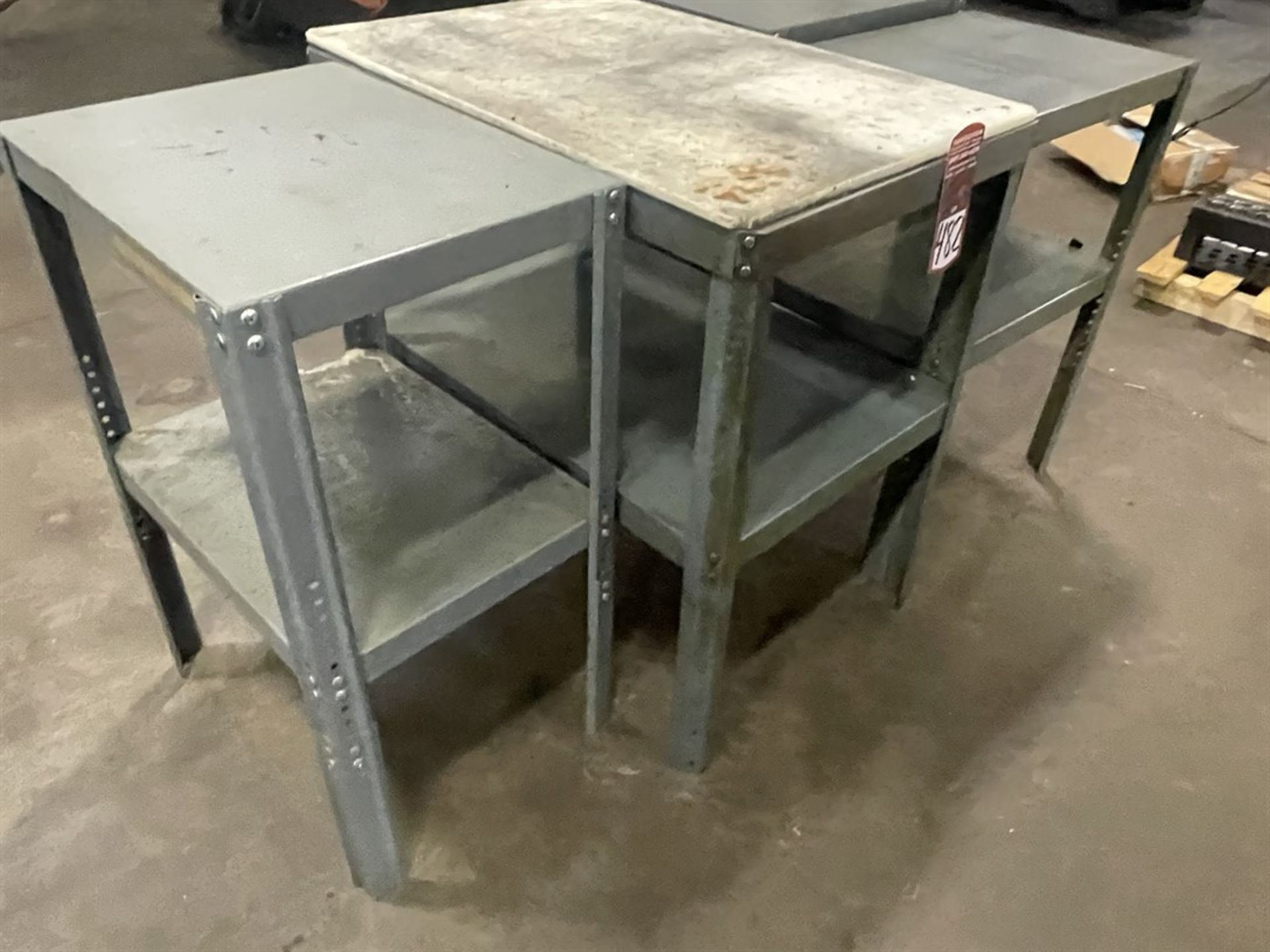Lot of (4) Work Benches