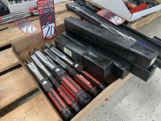 Lot of (6) REGO-FIX 100 Torque Wrenches