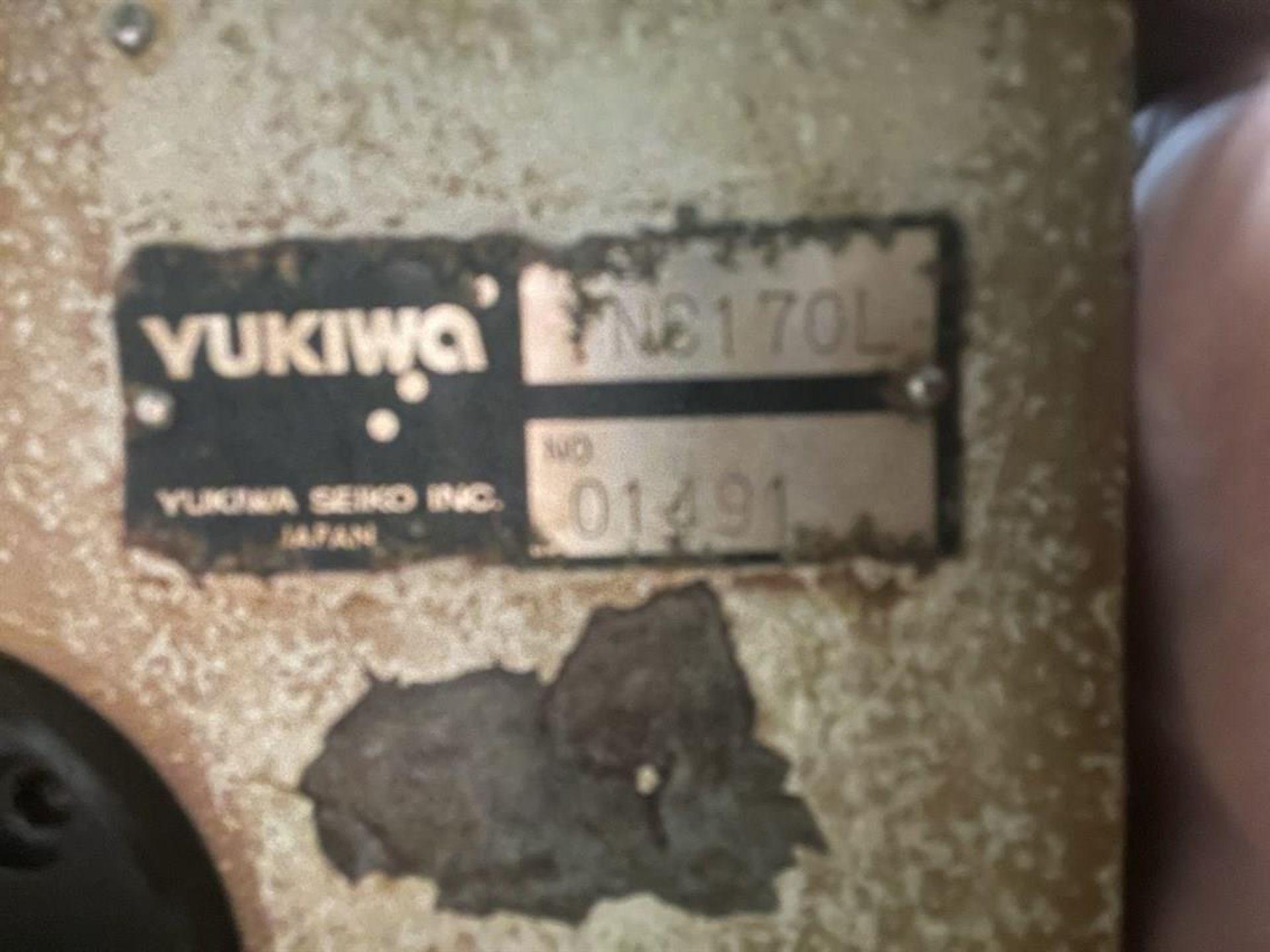 YUKIWA UNC170L Rotary Table, s/n 01491 - Image 3 of 3