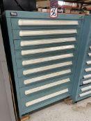 VIDMAR 9-Drawer Modular Cabinet