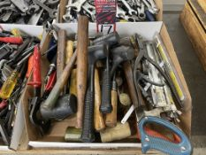 Lot of Assorted Hammers and Saws