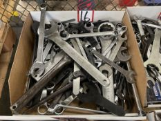 Lot of Assorted Combination and Spanner Wrenches