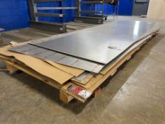Lot Comprising Stack of Assorted 6061-T6 Aluminum Sheet Stock