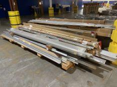 Lot of Assorted Aluminum Extrusions