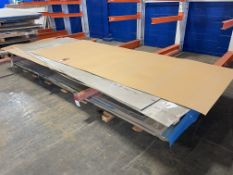 Lot Comprising Stack of Assorted 6061-0 Aluminum Sheet Stock