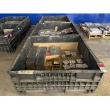 Lot Comprising (3) Collapsible Crates w/ Assorted 6AL-4V AMS4911 Titanium Block and 7050-T7451-