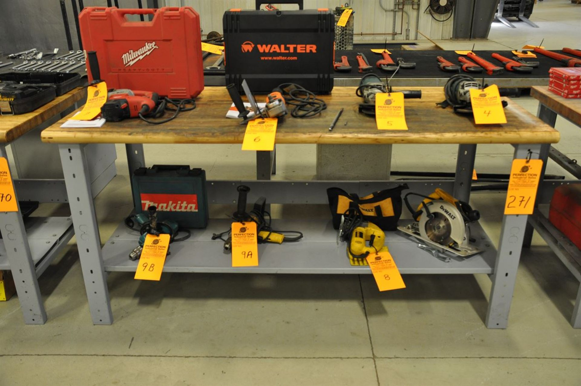"""Maple Top Work Bench, 30""""x72"""" (No Contents)"""