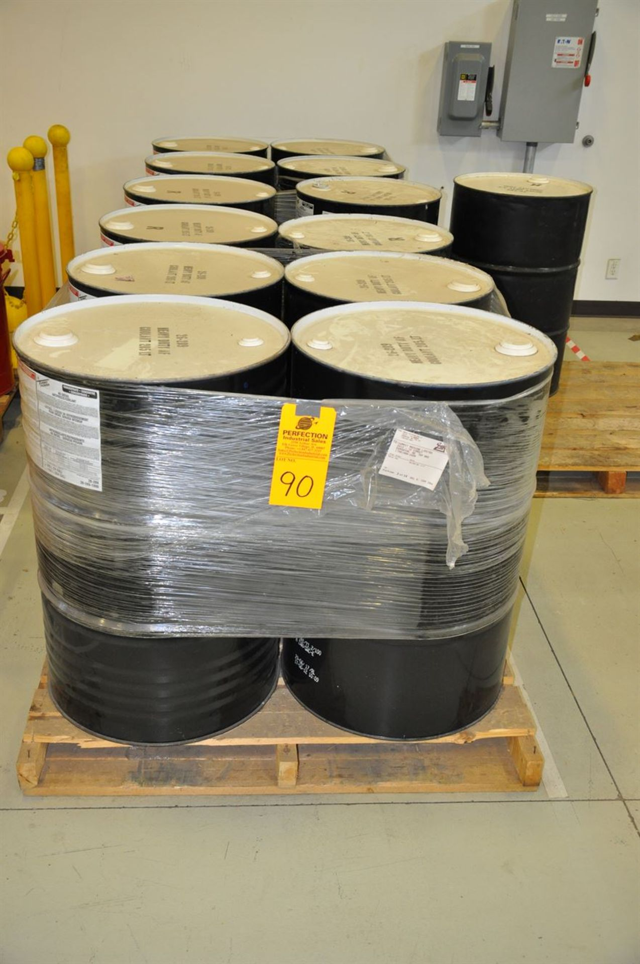 (12) Unopened 205 Litre Drums of HD Diesel Antifreeze/Coolant (Glycol)