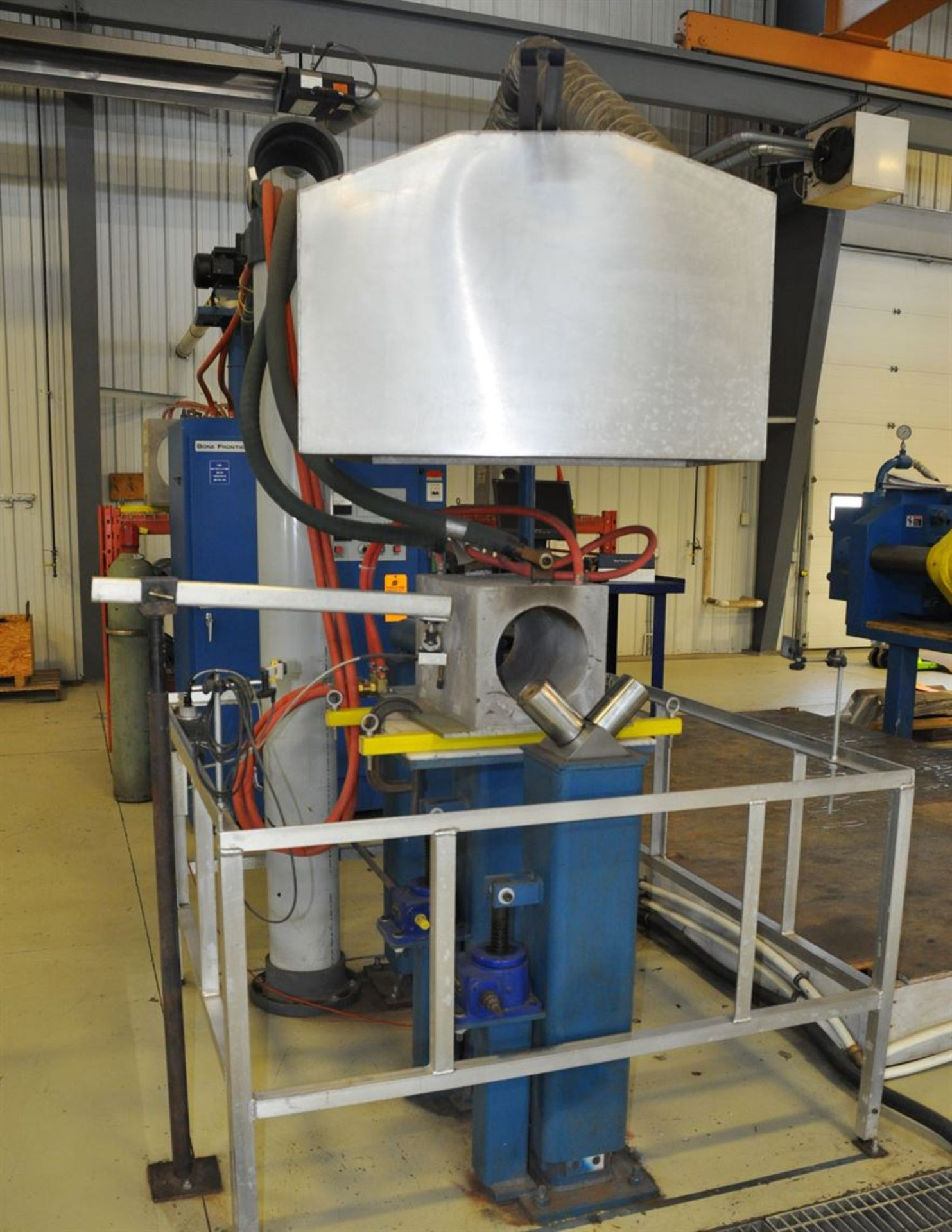 2012 BONE FRONTIER COMPANY CNC TS5L 75 3-10SUM Induction Power Stress Relieving Unit, s/n 730, w/ - Image 2 of 6