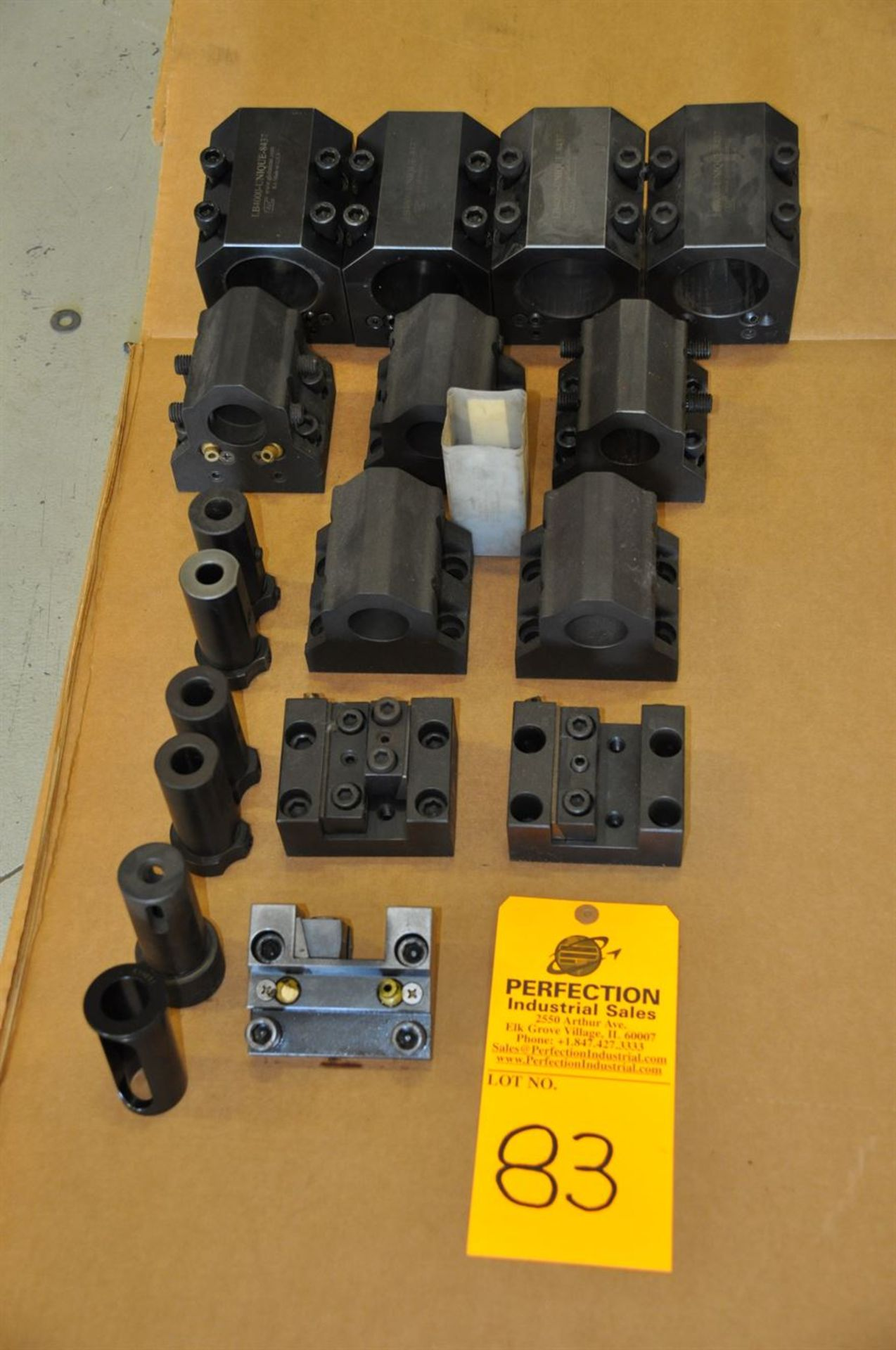 """LB4000 2.5"""" and 1.5"""" boring bar holders, 1"""" stick tool holders."""
