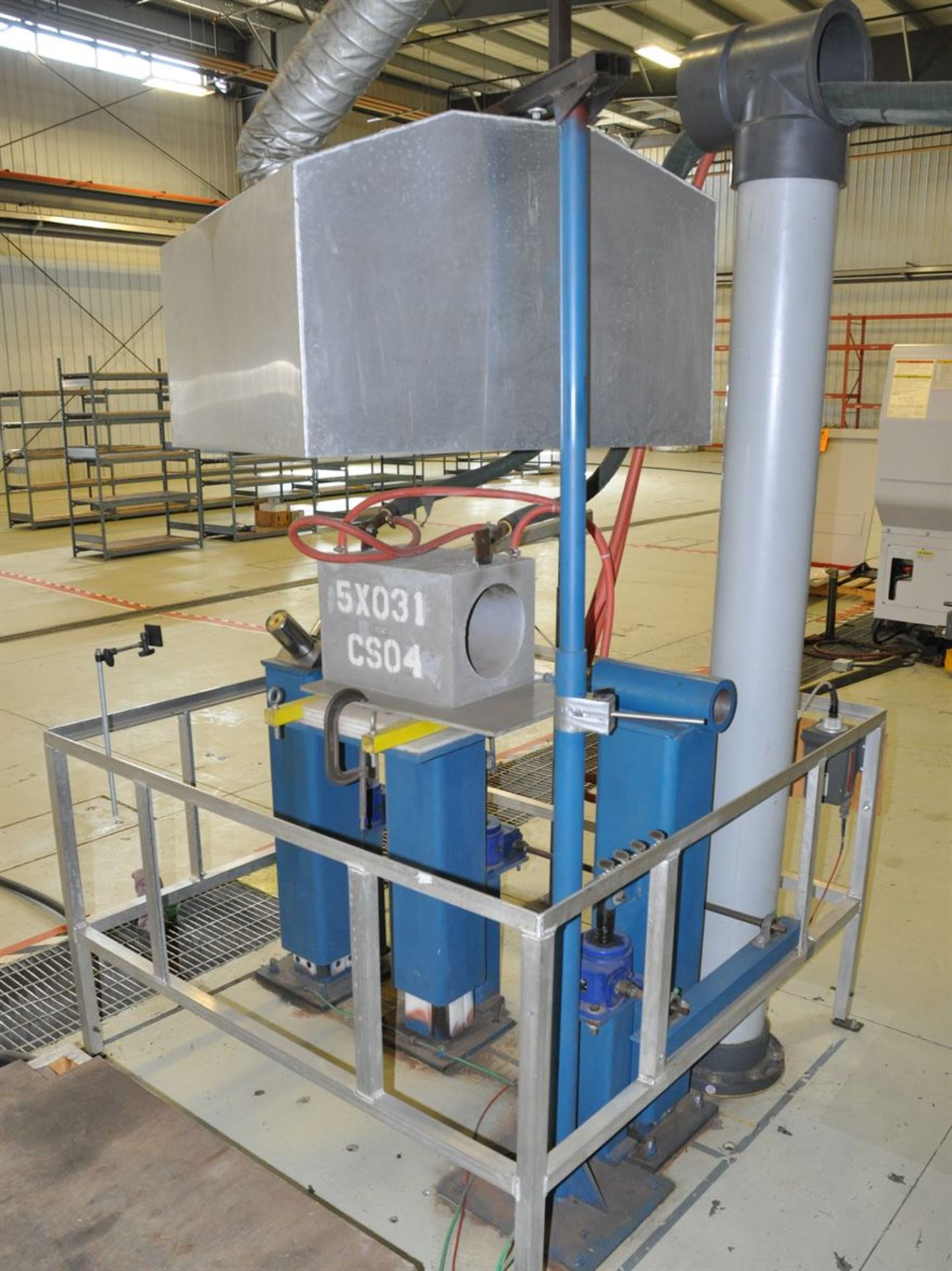 2012 BONE FRONTIER COMPANY CNC TS5L 75 3-10SUM Induction Power Stress Relieving Unit, s/n 730, w/ - Image 3 of 6