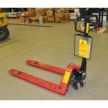 """Shippers Supply Pallet Jack, 5500 lb, 27x48"""""""