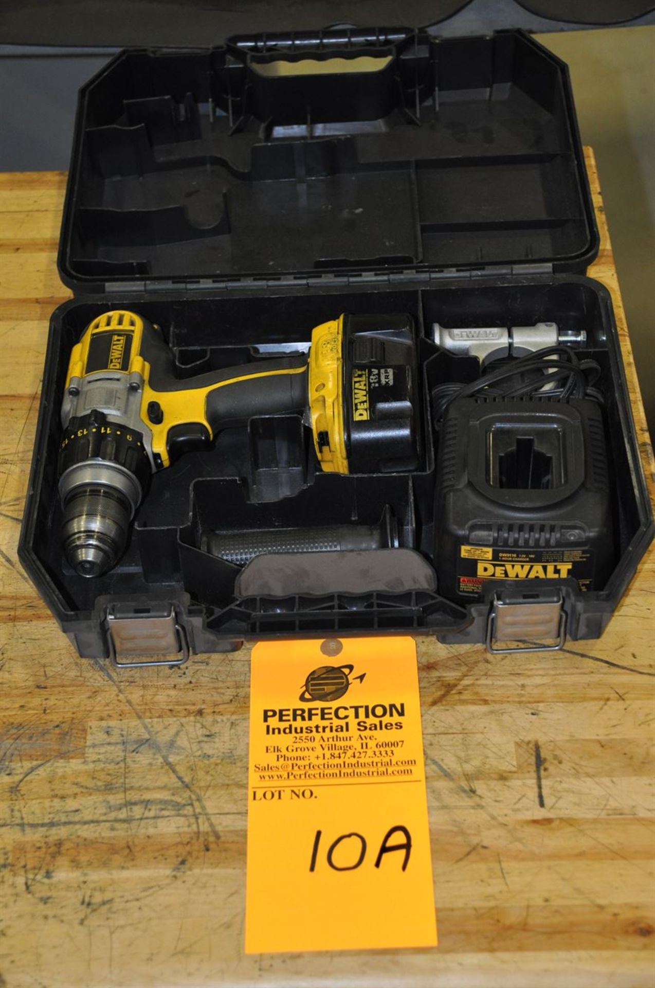 DeWalt 18 V Cordless Drill