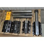 "(4) LOC 650 2.5"" boring bar holders w/ (3) bars"